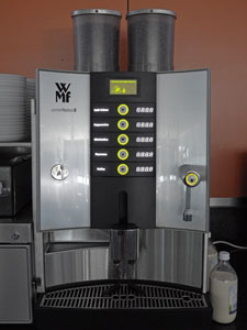 Coffee machine on my level in the old building